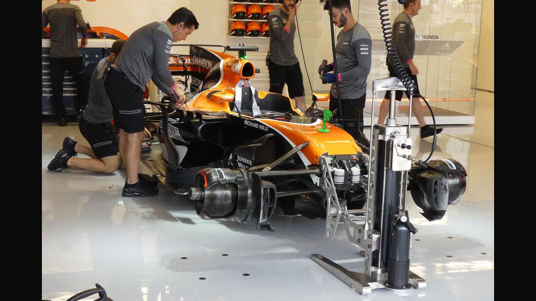 McLaren-Honda - GP USA - Austin - Formel 1 - Freitag - 20.10.2017