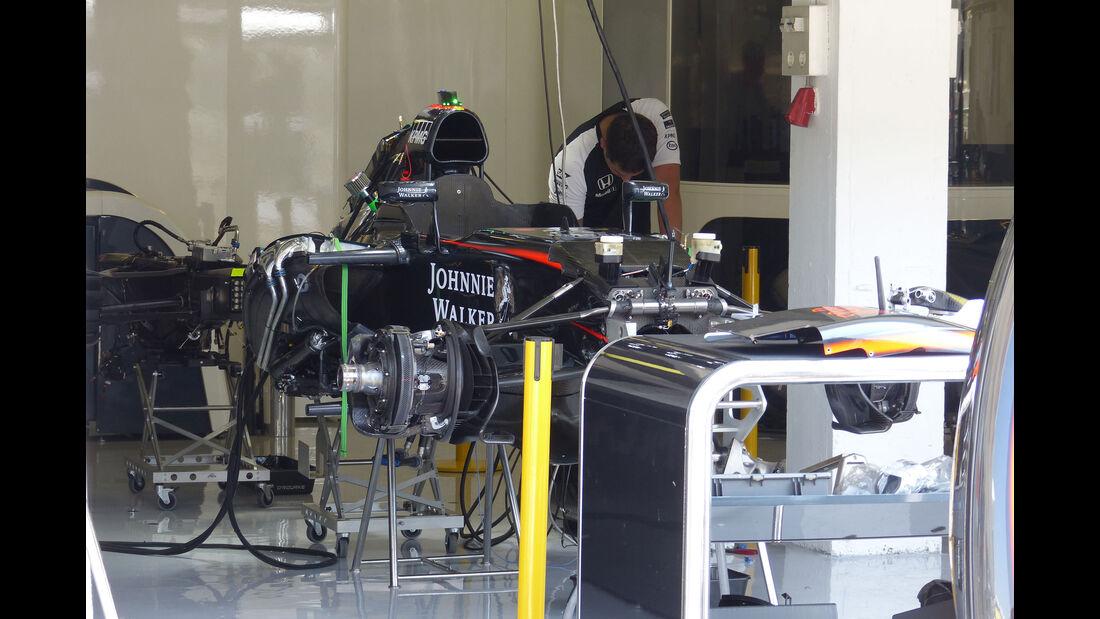 McLaren-Honda - GP Ungarn - Budapest - Donnerstag - 23.7.2015
