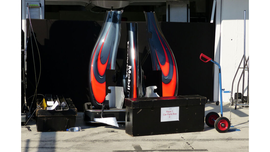 McLaren-Honda - GP Ungarn - Budapest - Mittwoch - 22.7.2015