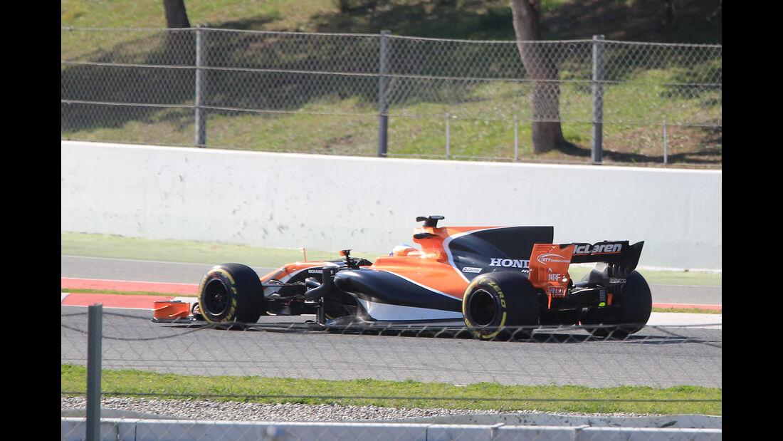 McLaren-Honda MCL32 - Filmtag - Circuit de Barcelona-Catalunya - F1 2017 - 26.2.2017