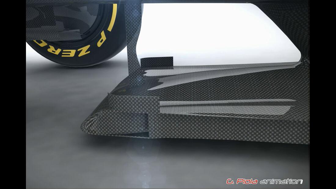 McLaren Honda MP4-30 - Technik - Piola-Animation - Formel 1 - 2015