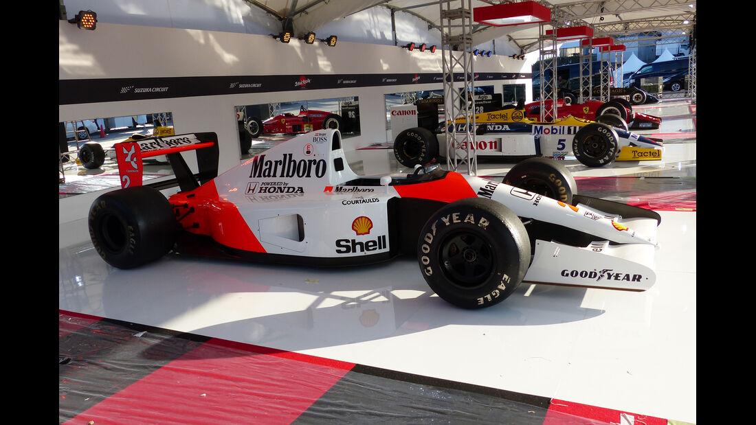 McLaren Honda MP4/6 - Formel 1 - GP Japan - Suzuka - 23. September 2015
