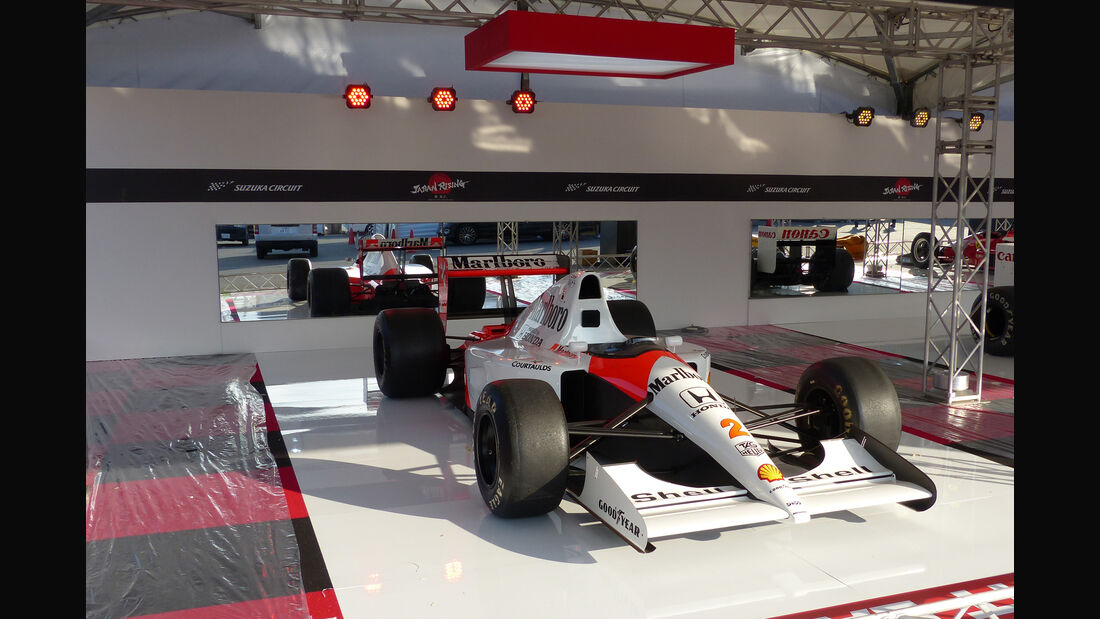 McLaren Honda MP4/6 - Formel 1 - GP Japan - Suzuka - 23. September 2015