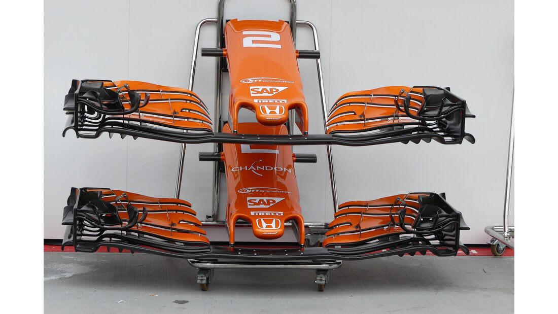 McLaren-Honda - Red Bull - GP Ungarn 2017 - Budapest - Formel 1 - Donnerstag - 27.7.2017