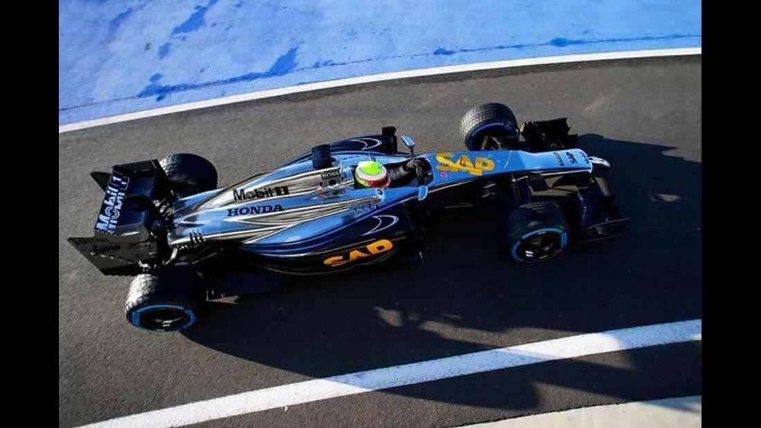 McLaren-Honda - Silverstone 2014