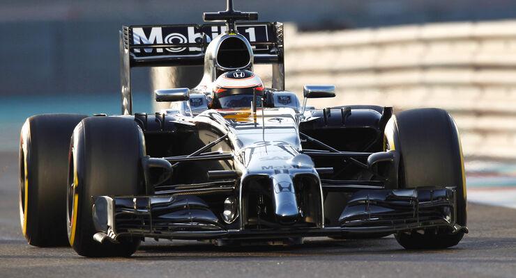 McLaren-Honda - Test - Abu Dhabi 2014