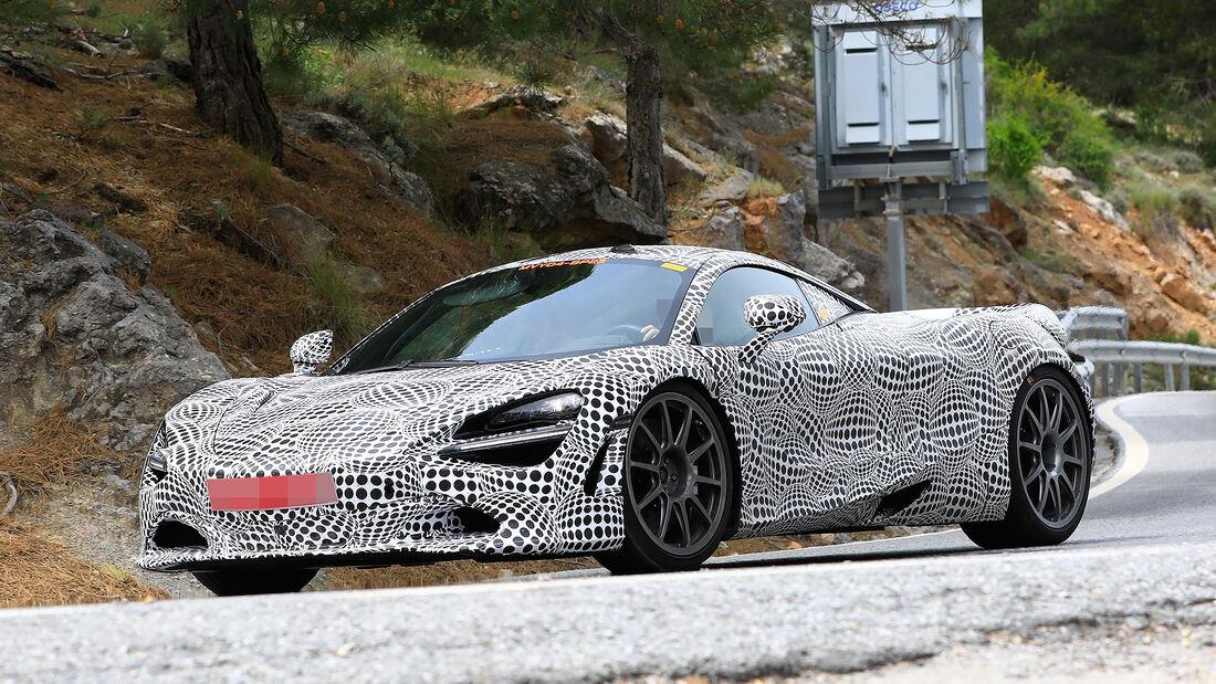 McLaren Hybrid Muletto