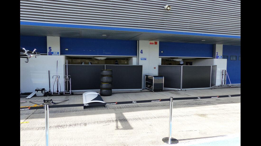 McLaren - Impressionen - Jerez - Formel 1-Test - 31. Januar 2015