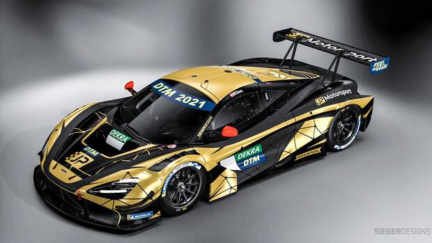 McLaren - JP Motorsport - DTM - 2021
