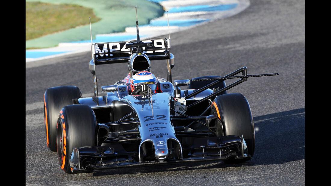 McLaren - Jerez-Test 2014