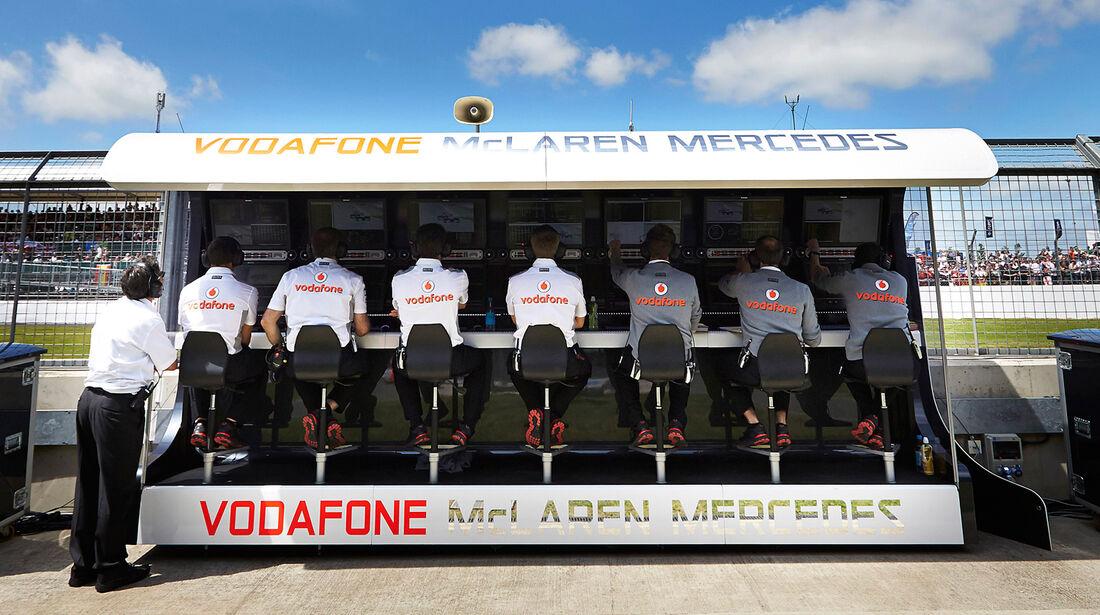 McLaren Kommandostand