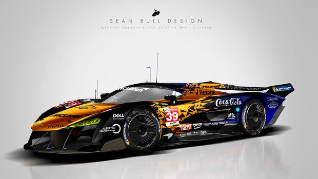McLaren Le Mans Hypercar Concept - Sean Bull Design