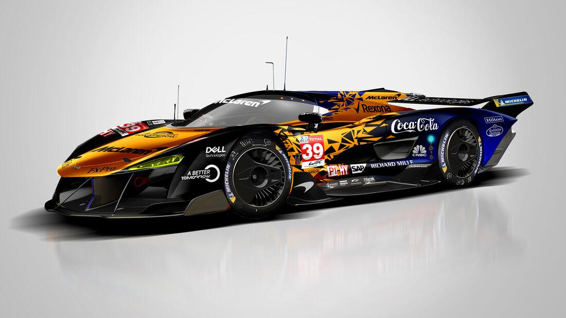McLaren - Le Mans - Protoyp - Concept - Hypercar / LMDh - Sean Bull
