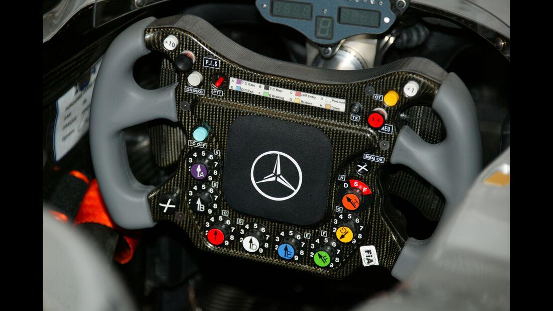 McLaren Lenkrad 2004