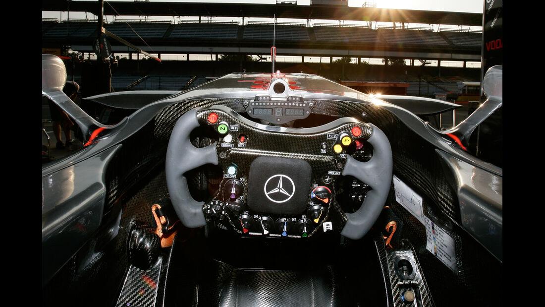 McLaren Lenkrad 2007
