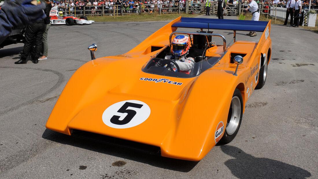 McLaren M8D - Jenson Button - Goodwood