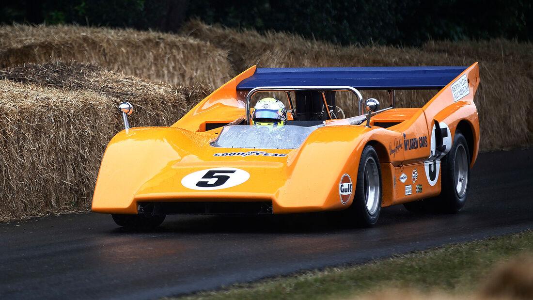 McLaren M8D - Lando Norris - Goodwood