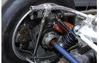 McLaren M8F, Detail, Radaufhängung
