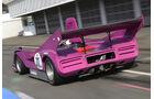 McLaren M8F, Rückansicht, Boxengasse