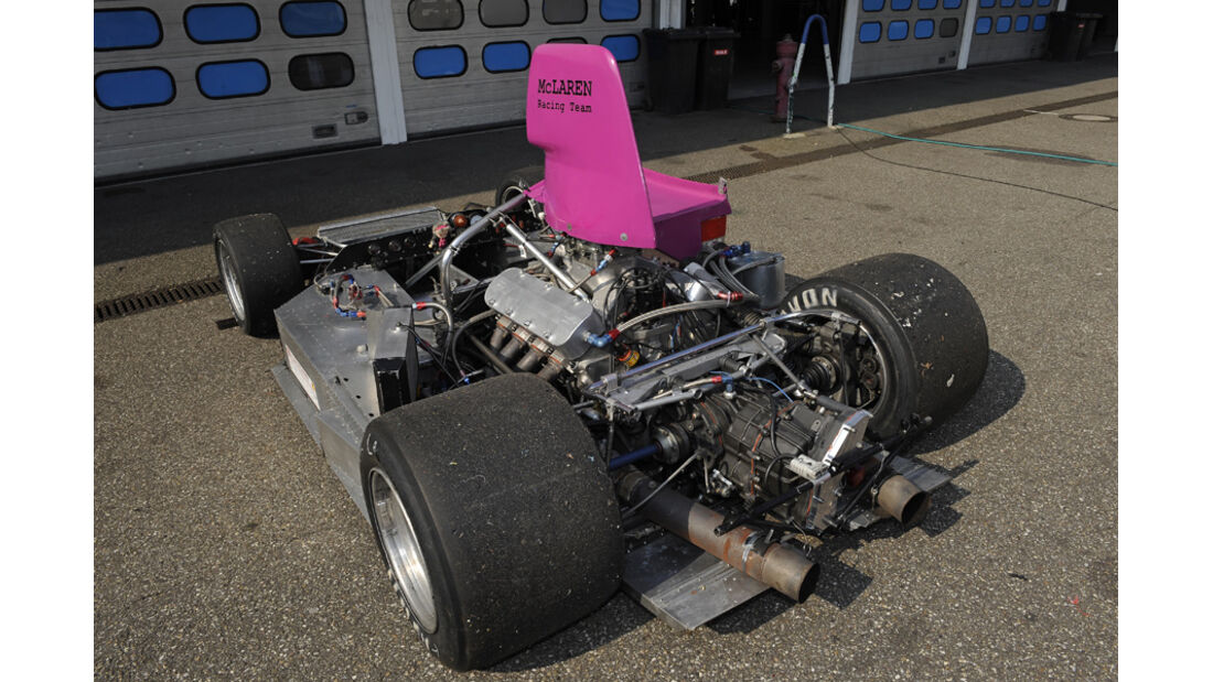 McLaren M8F, ohne Chassis