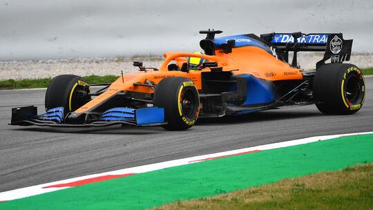 McLaren MCL35 - F1-Shakedown - Barcelona - 2020