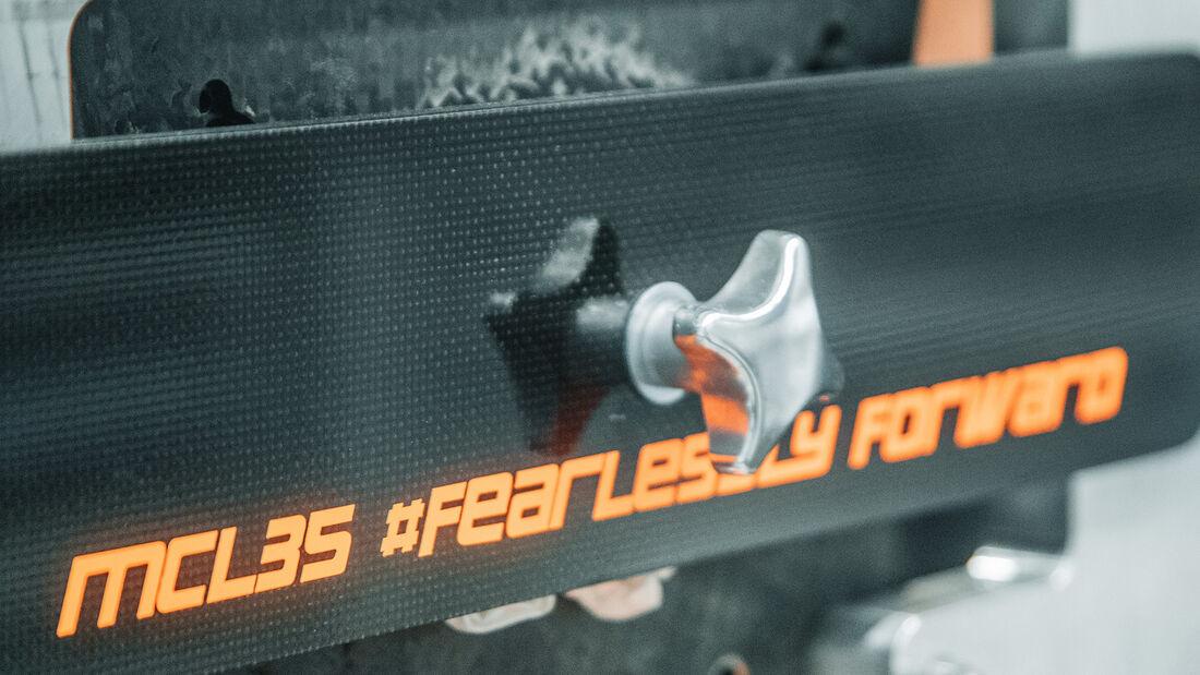 McLaren MCL35 - F1 - Teaserbilder - 2020