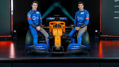 McLaren MCL35 Präsentation - 2020