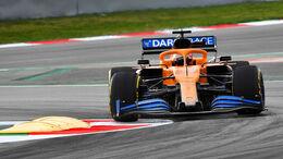 McLaren MCL35 - Shakedown Barcelona 2020