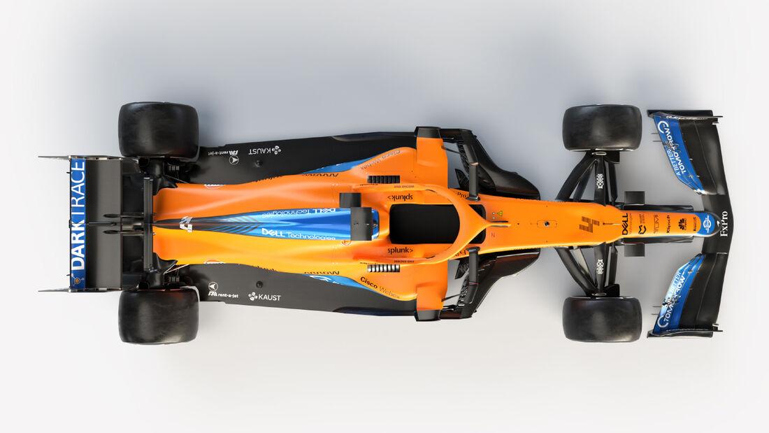 McLaren MCL35M - Formel 1 - 2021
