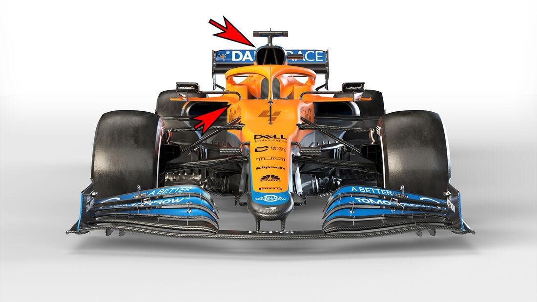McLaren MCL35M - Formel 1 - Technik - 2021