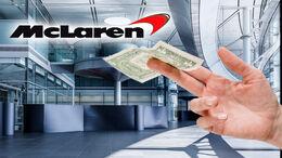 McLaren MCT Hauptquartier Verkauf
