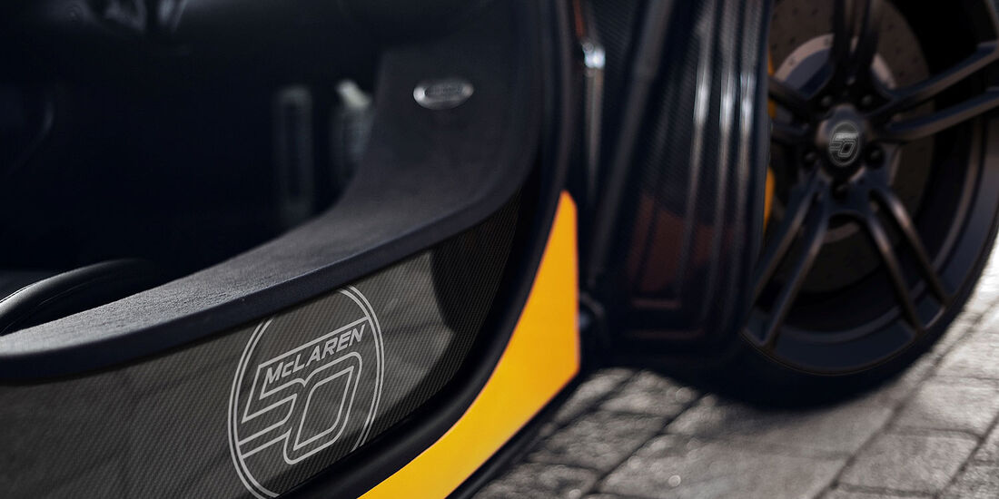 McLaren MP4-12C 50 Jahre Sondermodell
