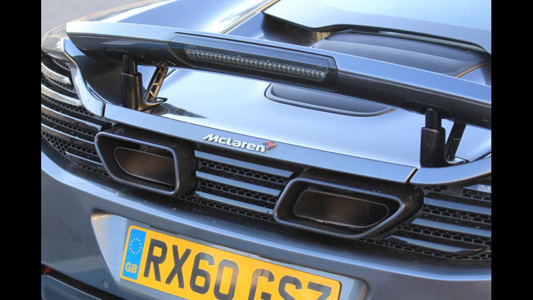 McLaren MP4-12C, Auspuff
