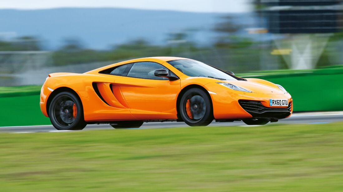 McLaren MP4-12C, Beschleunigung