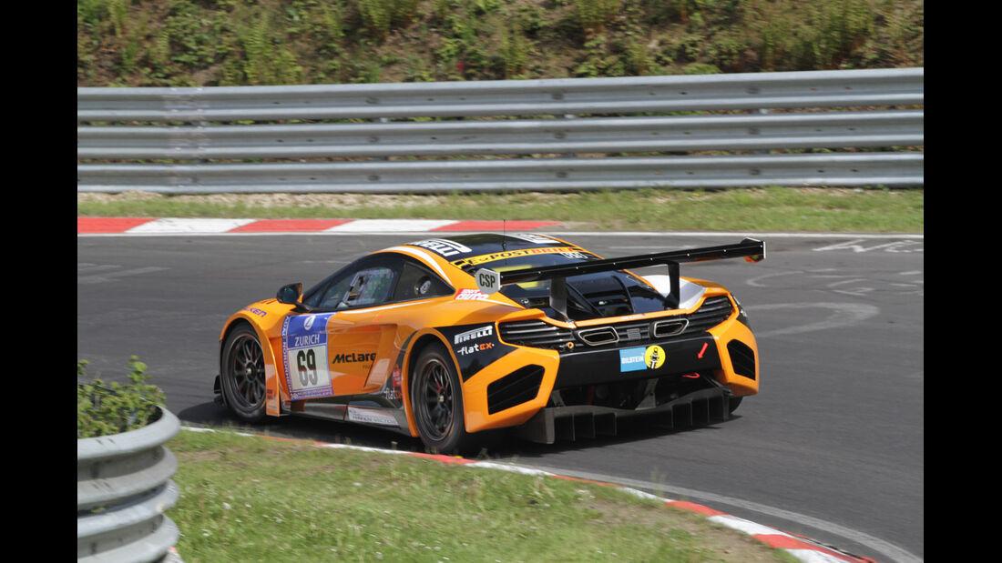 McLaren MP4-12C Dörr Übler 24h Nürburgring 2012