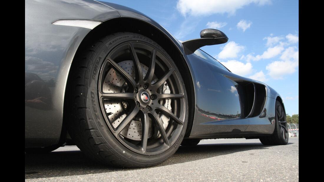 McLaren MP4-12C, Felge, Rad