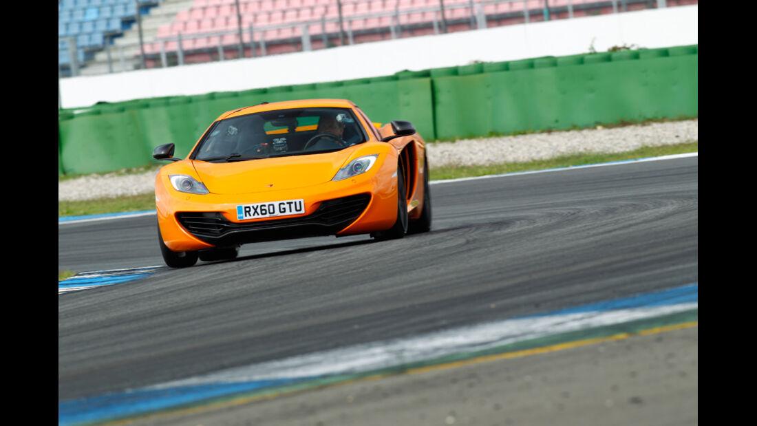 McLaren MP4-12C, Frontansicht