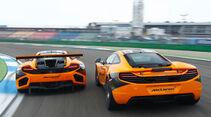 McLaren MP4-12C GT3, Dörr-McLaren MP4-12C Clubsport, Heckansicht