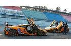 McLaren MP4-12C GT3, Dörr-McLaren MP4-12C Clubsport, Seitenansicht, Flügeltüre