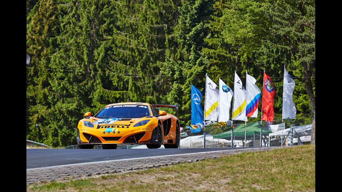 McLaren MP4-12C GT3 - Dörr Motorsport - Impressionen - 24h-Rennen Nürburgring 2014 - #69 - Qualifikation 1