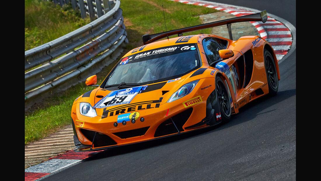 McLaren MP4-12C GT3 - Dörr Motorsport - Impressionen - 24h-Rennen Nürburgring 2014 - #69