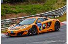 McLaren MP4-12C GT3 - Dörr Motorsport -Startnummer: #69 - Bewerber/Fahrer: Rudi Adams, Sebastian Asch, Alvaro Parente, Arno Klasen - Klasse: SP9 GT3