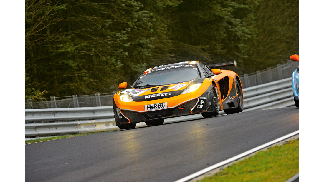 McLaren MP4-12C GT3, Frontansicht