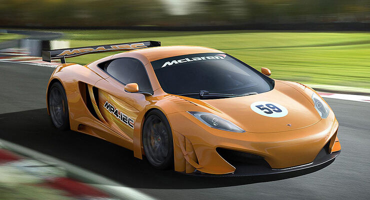 McLaren MP4-12C GT3 Racing