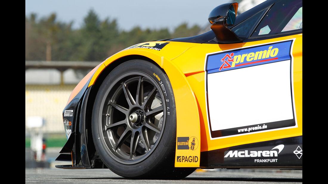McLaren MP4-12C GT3, Rad, Felge