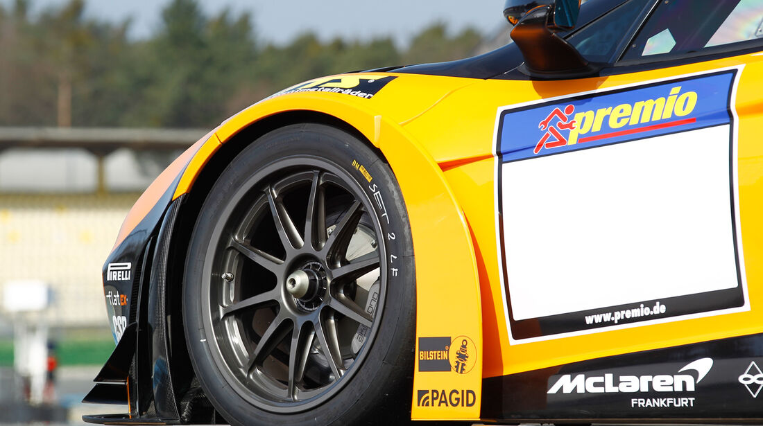 McLaren MP4-12C GT3, Rad, Felge