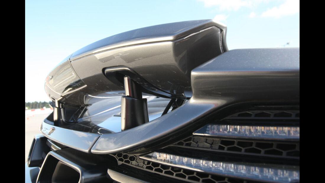 McLaren MP4-12C, Heckspoiler