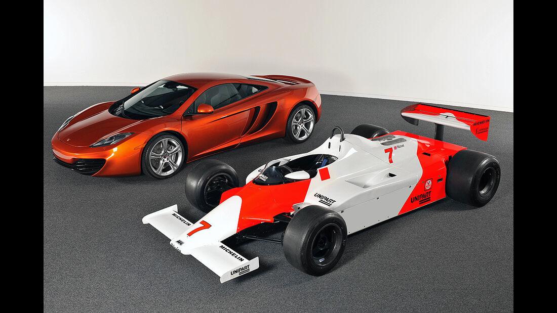 McLaren MP4-12C, Jenson Button, Lewis Hamilton