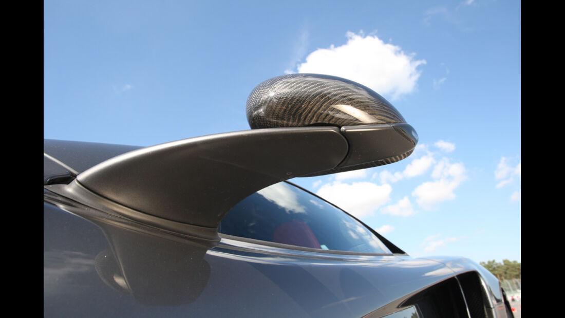 McLaren MP4-12C, Rückspiegel, Seitenspiegel