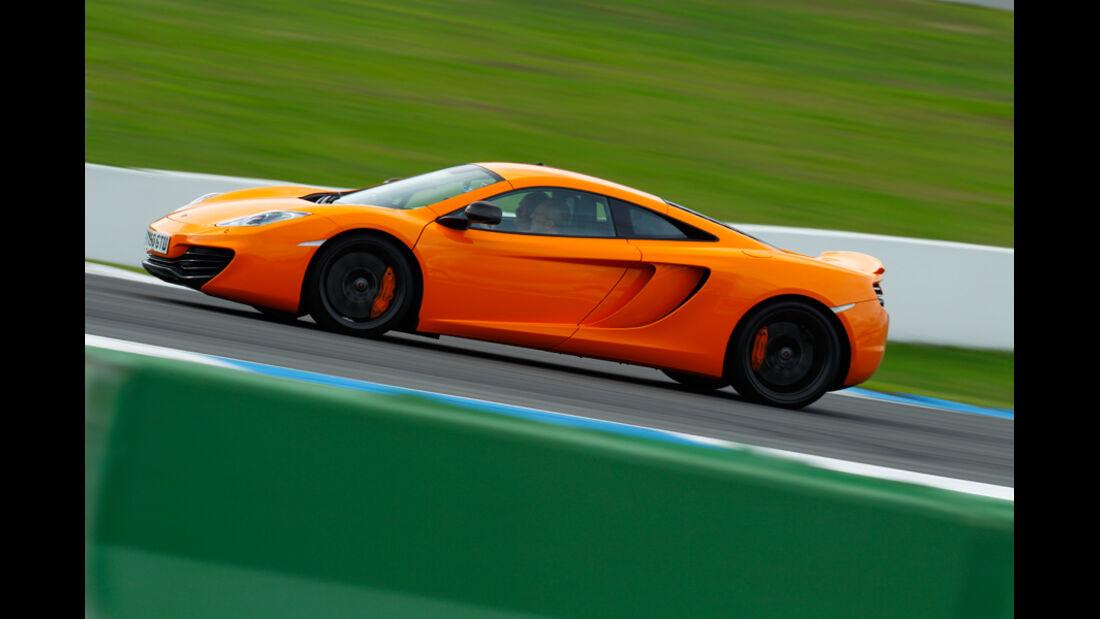 McLaren MP4-12C, Seite